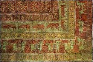 Art : Iranian ancient carpet