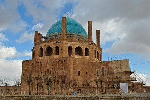A wonderful example of Iranian architecture,Sultanieh