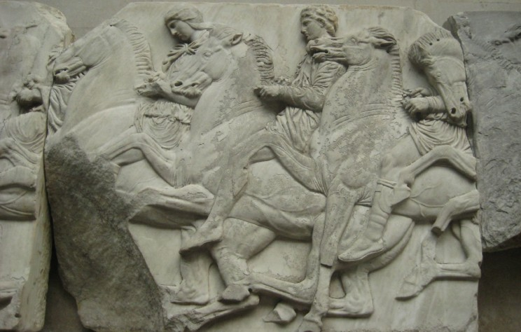 Cavalcade_frieze_Parthenon_(1)_BM
